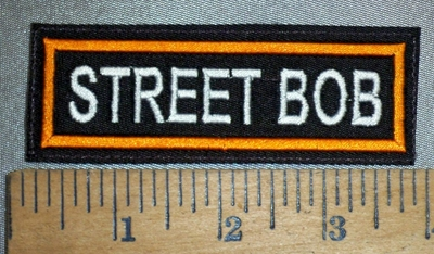 4425 L - Street Bob - Embroidery Patch