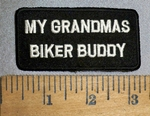 4430 S - My Grandma's Biker buddy - Embroidey Patch