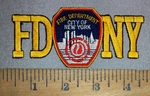 4434 N - FDNY - Embroidery Patch