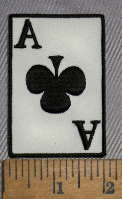 4438 S - Ace Of Spades - Embroidery Patch