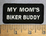 4469 S - My Mom's Biker Buddy - Embroidery Patch