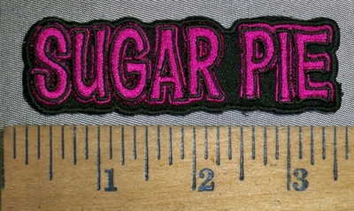 4471 CP - Sugar Pie - Embroidery Patch