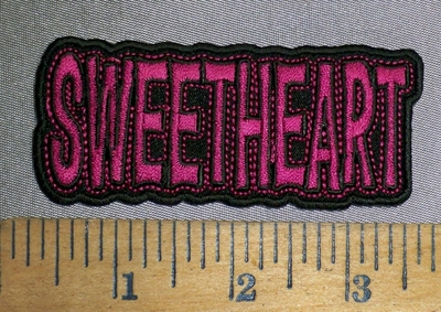 4483 CP - Sweetheart - Embroidery Patch