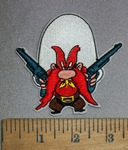 4500 C - Yosemite Sam - Embroidery Patch