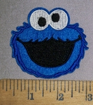 4501 C - Cookie Monster - Embroidery Patch