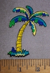 4505 C - Colorful Palm Tree - Embroidery Patch
