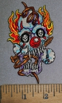 4517 N - Spring Clown - Embroidery Patch