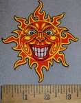 4531 N - Sunny - Smiley - Sun - Embroidery Patch