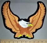 4536 S - Copper Winged Eagle - Back Patch