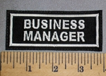 4559 L - Business Manager - Embroidery Patch