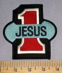 4570 W - Jesus #1 - Embroidery Patch
