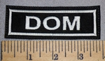 4577 L - DOM - Embroidery Patch