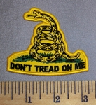 4583 CP - Don't Tread Me - Yellow Snake - Embroidery Patch