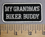 4597 CP - My Grandma's Biker Buddy - Embroidery Patch