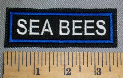 4603 L - Sea Bees - Embroidery Patch