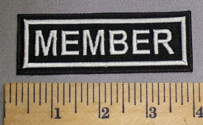 4605 L - Member - Embroidery Patch