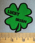 4606 CP - Lucky Irish - Four Leaf Clover - Embroidery patch