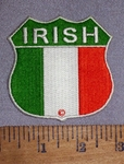 4615 CP - Irish Flag - Embroidery Patch