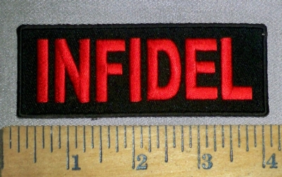 4625 CP - INFIDEL - Embroidery Patch