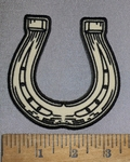 4630 CP -duplicate  Horse Shoe  - Embroidery Patch