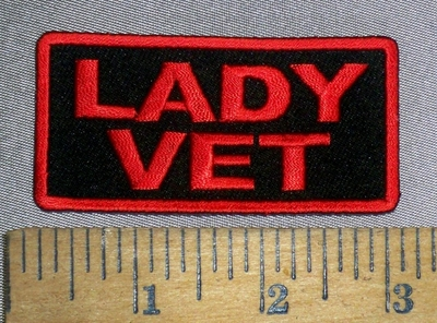4634 CP - Lady Vet - Embroidery Patch