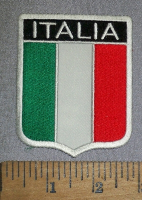 4651 CP - Italia Flag - Embroidery Patch