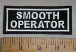 4675 L - Smooth Operator - Embroidery Patch