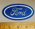 4677 L - Ford Logo - Embroidery Patch