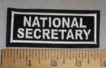 4678 L - National Secretary - Embroidery Patch