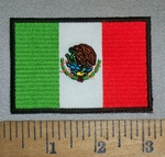4690 CP - Mexico Flag - Embroidery Patch
