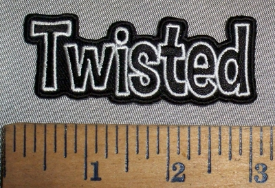 4708 CP - Twisted - Embroidery Patch