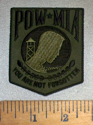 4716 CP - POW MIA You Are Not Forgotten - Army Green - Embroidery Patch