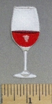 4749 C - Glass Of Wine - Embroiery Patch