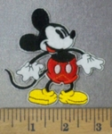 4750 C - Mickey Mouse #2  - Embroidery Patch