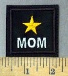 4752 L - Yellow Star - Mom - Embroidery Patch