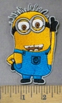 4753 C - Minion With Glasses - Embroidery patch