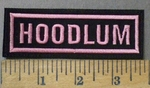 4756 L - Hoodlum - Pink - Embroidery Patch