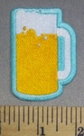 4764 S - Mug Of Beer - Embroidery Patch