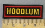 4777 L - Hoodlum - Embroidery Patch