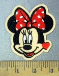 4797 C - Minnie Mouse #2 - Embroidery Patch
