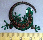 4811 CP - Lizzard - Embroidery Patch