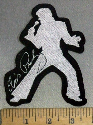 4829 L - Elvis - Embroidery Patch