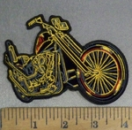4834 G - DUPLICATE Classic Motorcycle - Embroidery Patch