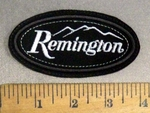 4837 L - Remington Gun Logo - Small - Embroidery Patch