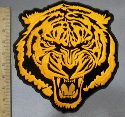 4842 CP - Orange Bengal Tiger - Back Patch - Embroidery Patch