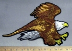 4843 G - DISCONTINUED  Flying Eagle - Back Patch - Embroidery Patch