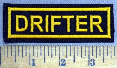 4850 L - Drifter - Yellow - Embroidery Patch
