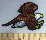 4857 G - Flying Eagle - Small - Embroidery Patch