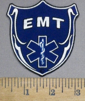 4863 CP - EMT Shield - Embroidery Patch