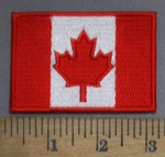 4864 S - Canadian Flag - Embroidery Patch